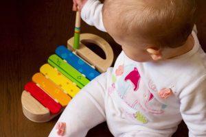 a que jugar con un bebe de 1 año