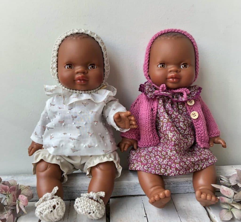 ideas para regalar en Navidad muñecas con ropa