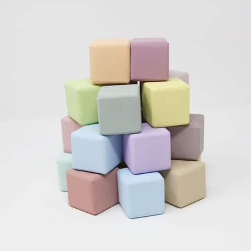 ideas para regalar en Navidad cubos de madera