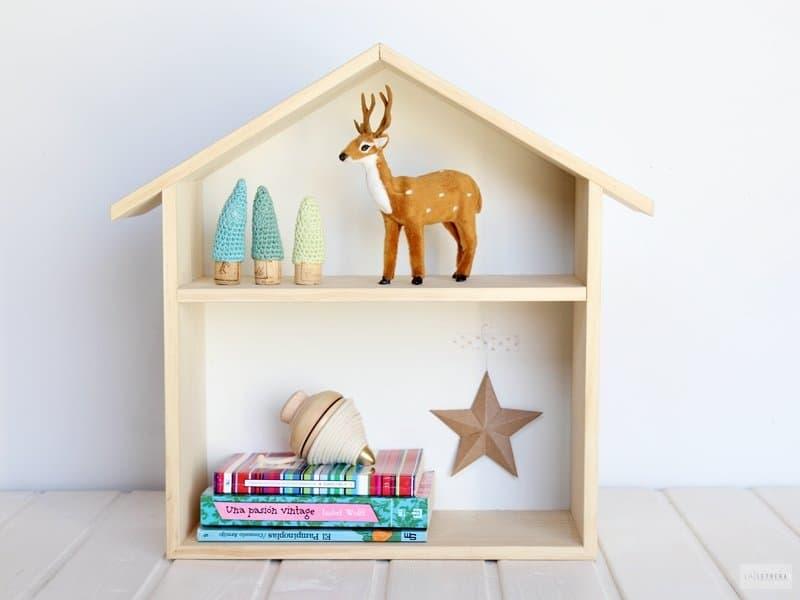 ideas para regalar en Navidad estantería