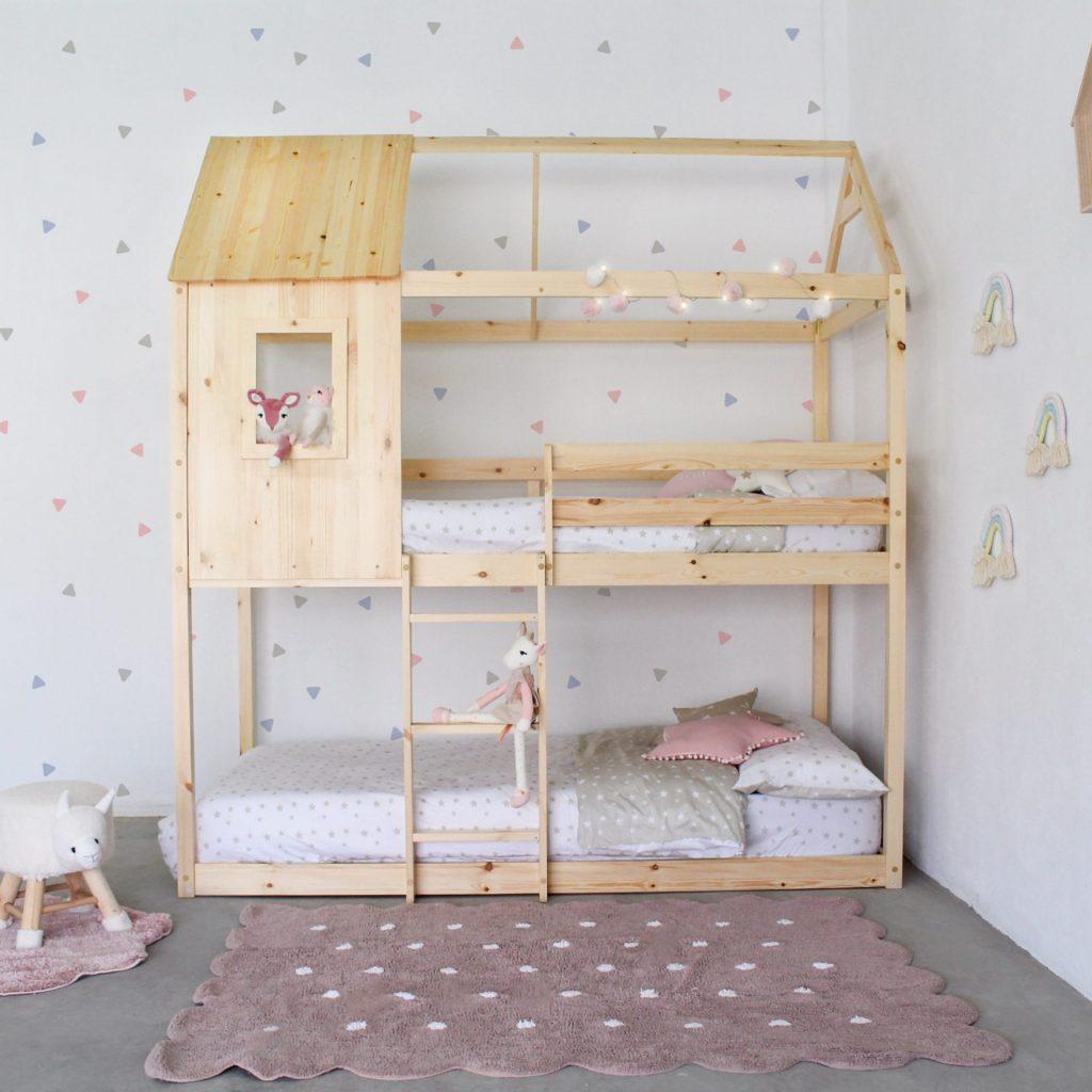 cama litera montessori